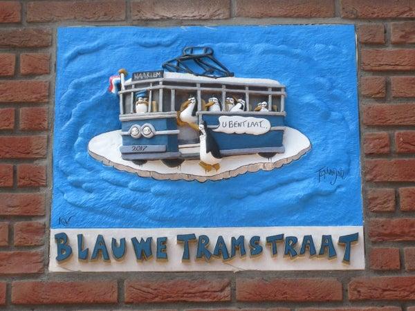 Blauwe Tramstraat, Haarlem
