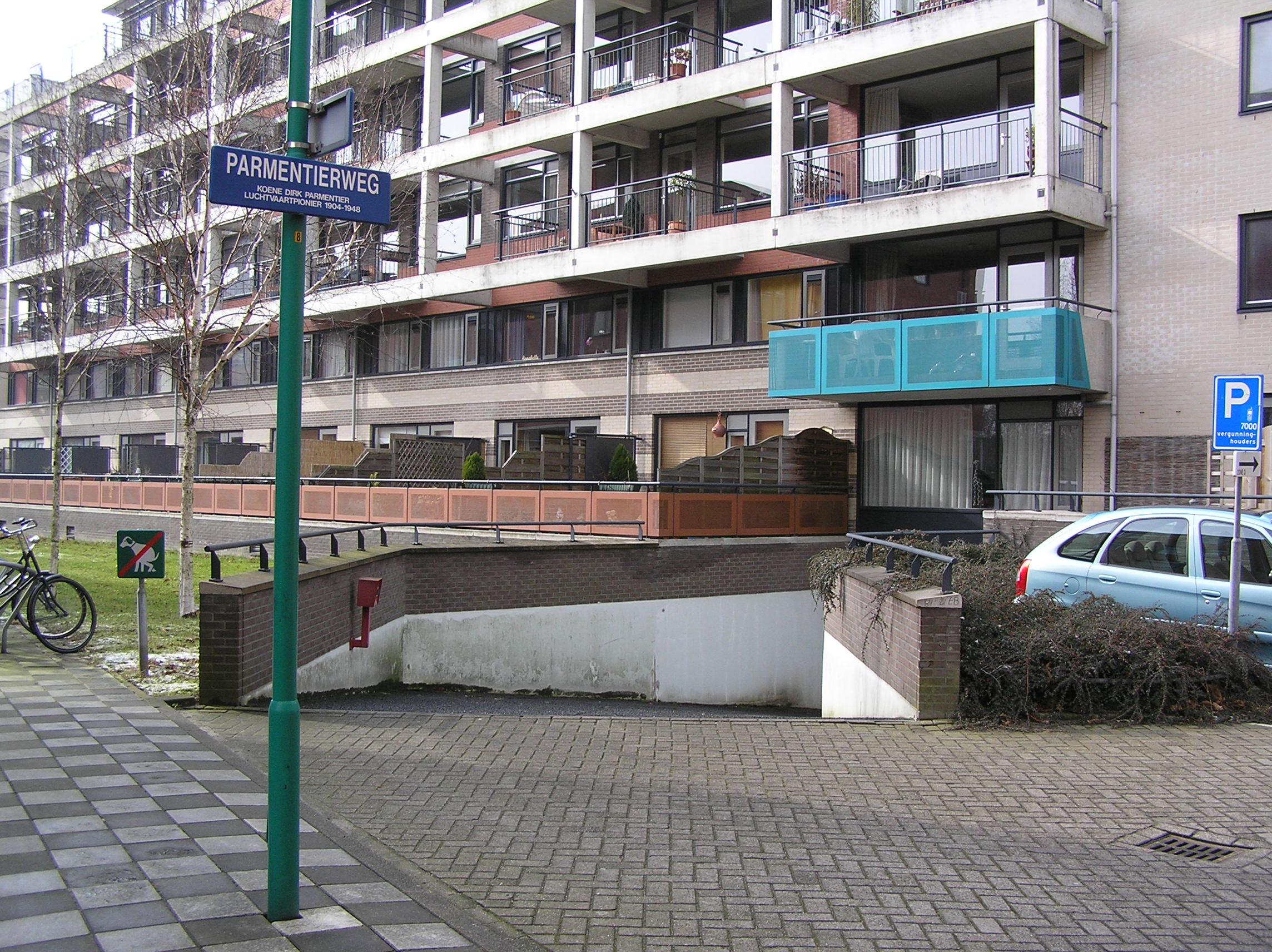 Particuliere Garage Parmentierweg, Leiden